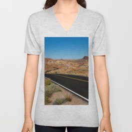 Desert Highway Unisex V-Neck