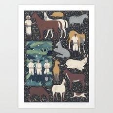 The Expedition Art Print