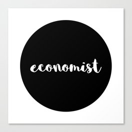 economist Canvas Print