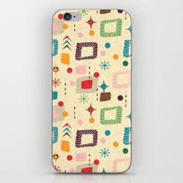 Atomic pattern iPhone Skin