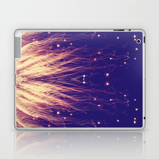 Fire Hair Laptop & iPad Skin