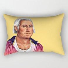 Hipstory -  George Washington Rectangular Pillow
