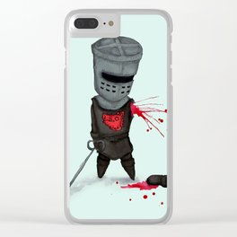 The Black Knight Clear iPhone Case