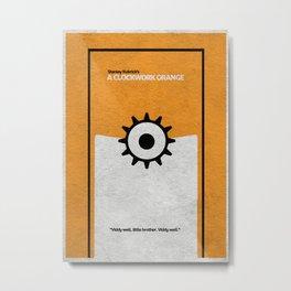 A Clockwork Orange Metal Print