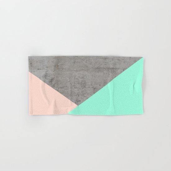 Concrete Collage Hand & Bath Towel