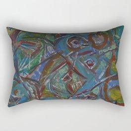 Cosmic Bait Ball Rectangular Pillow