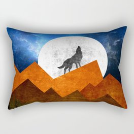 Night Shadow Rectangular Pillow