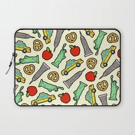 New York, New York Pattern Laptop Sleeve