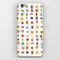 kawaii iPhone & iPod Skins featuring Kawaii by heidi kenney