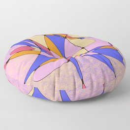 Brotherly Love Abstract Pattern Floor Pillow