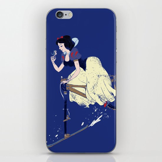 Snow Bike iPhone & iPod Skin