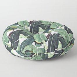 banana leaf pattern Floor Pillow