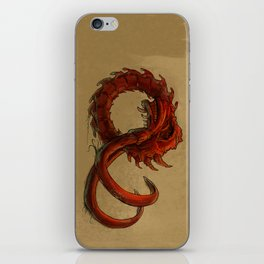 Bio-Elephant Skull iPhone Skin