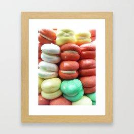 Yummy Grins Framed Art Print