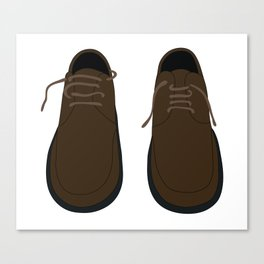 Pair Of Shoes Canvas Print