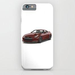 Red Godzilla GT-R iPhone Case