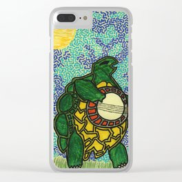 Terrapin Turtles Clear iPhone Case