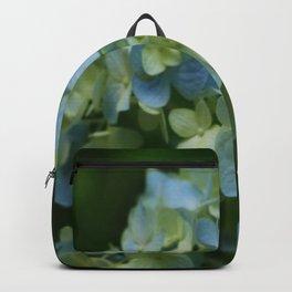 Blue Hydrangea - Painterly Style Backpack