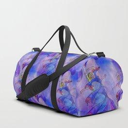 discopatttern blue -1a- Duffle Bag
