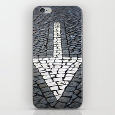 street arrow iPhone & iPod Skin