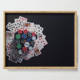 Gambling Serving Tray