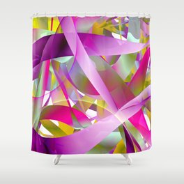 Spring fruity Shower Curtain