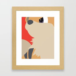 Close Up Art - Grow Framed Art Print