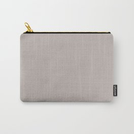 Silver Gray Carry-All Pouch