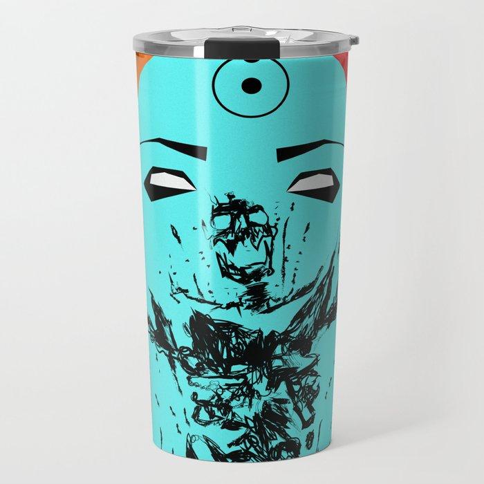 Dr Manhattan Travel Mug