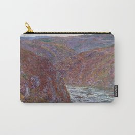Valley of the Creuse (Gray Day) Carry-All Pouch