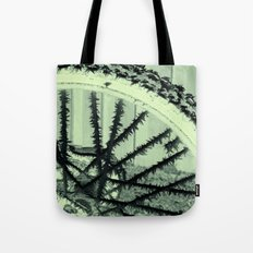 Winter spoke its intentions... Tote Bag
