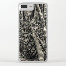 Fallen #2 Clear iPhone Case