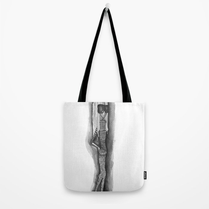 Shy People - Girl 1 Tote Bag