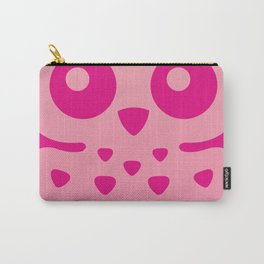 Cute Pink Baby Owl Carry-All Pouch