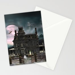Haunted House 1 Stationery Cards