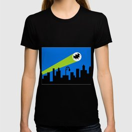 1966 Bat TV Show End Credits Art T-shirt