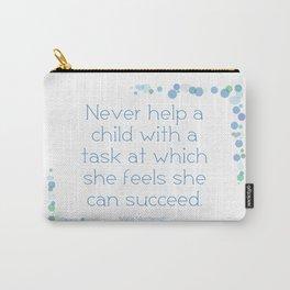 Montessori Quote for Children Carry-All Pouch