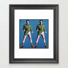 Double Walt Framed Art Print