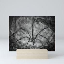 Attack of the spider Mini Art Print