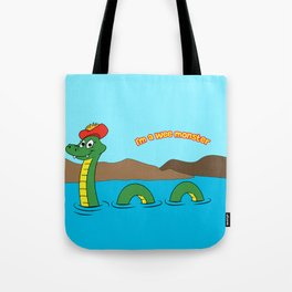 Nesie (Loch Ness Monster) Tote Bag