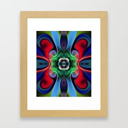 Dark Nebula Framed Art Print