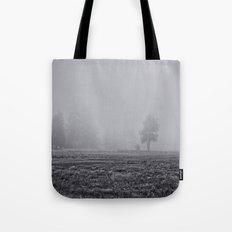 Tree in the Fog  Tote Bag