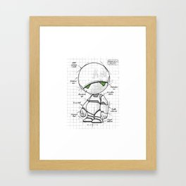 Marvin Plan Framed Art Print