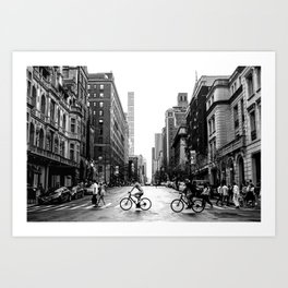 New York City Streets Art Print