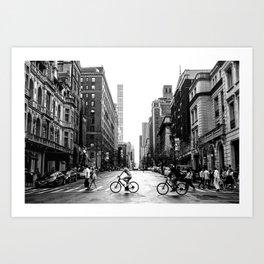 New York City Streets Art Print