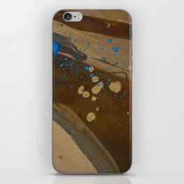 joelarmstrong_rust&gold_072 iPhone Skin