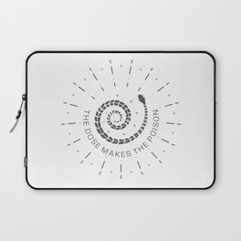 The dose makes the poison Laptop Sleeve