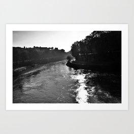 Rome river Art Print
