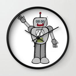 Robot Friend 2000 Wall Clock