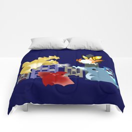 King Monsters Comforters